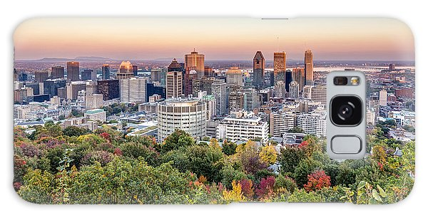 Montreal City In Autumn Galaxy Case