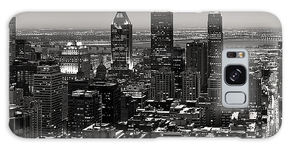 Quebec City Galaxy Case - Montreal City by Pierre Leclerc Photography