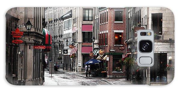 Montreal Street Scene Galaxy Case by John Rizzuto