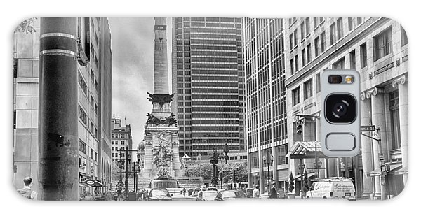 Monument Circle Galaxy Case by Howard Salmon