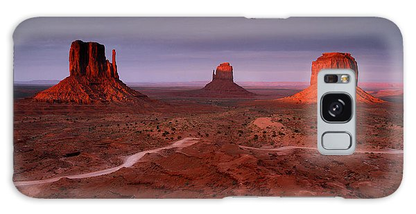 Monument Valley 1 Galaxy Case by Butch Lombardi
