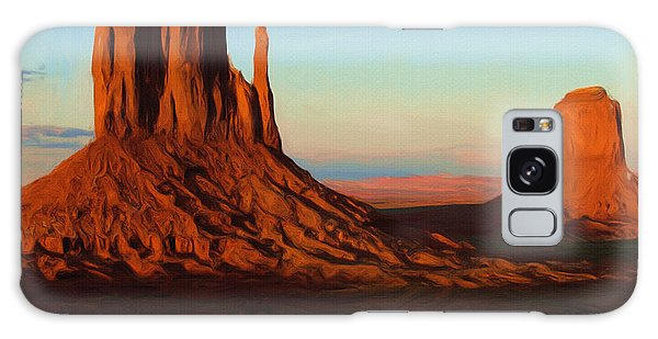 Landscape Galaxy Case - Monument Valley 2 by Inspirowl Design