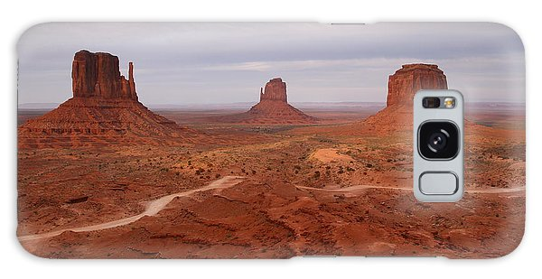 Monument Valley 3 Galaxy Case by Butch Lombardi