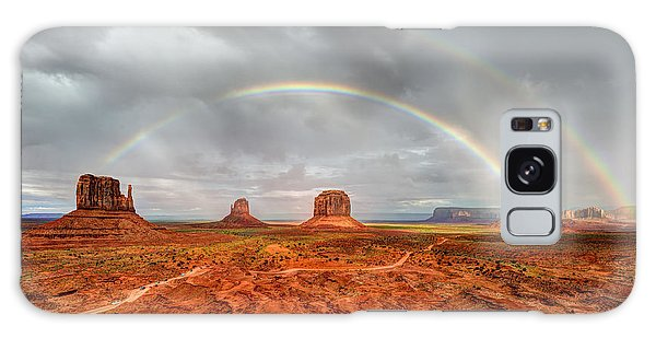 Monument Valley Double Rainbow Galaxy Case