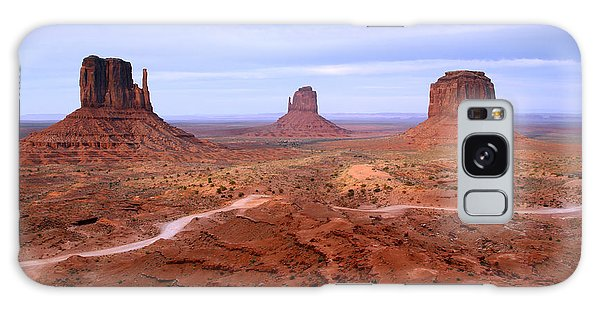 Monument Valley II Galaxy Case by Butch Lombardi