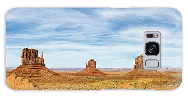 Monument Valley Panorama - Arizona Galaxy Case