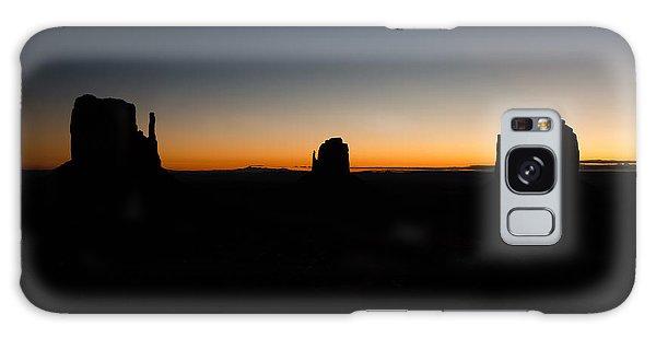 Monument Valley Sunrise Galaxy Case by Jeff Kolker