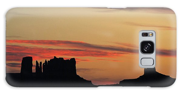 Monument Valley Sunset 1 Galaxy Case