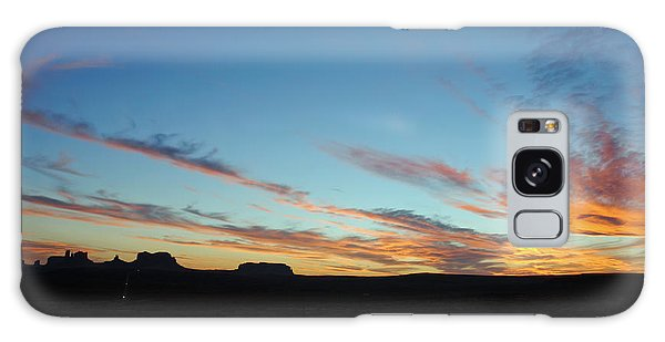 Monument Valley Sunset 2 Galaxy Case