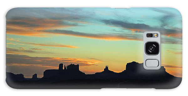Monument Valley Sunset 4  Galaxy Case