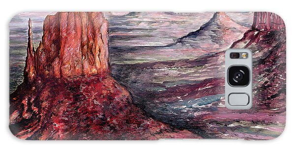 Monument Valley Arizona - Landscape Art Painting Galaxy Case