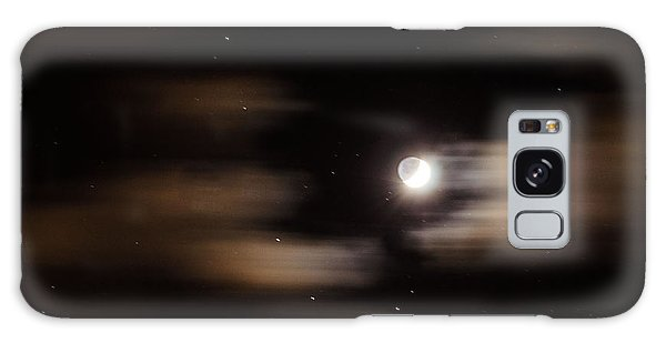 Moon And Stars II Galaxy Case by Judy Wolinsky
