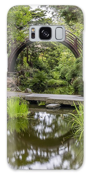 West Bay Galaxy Case - Moon Bridge Vertical - Japanese Tea Garden by Adam Romanowicz
