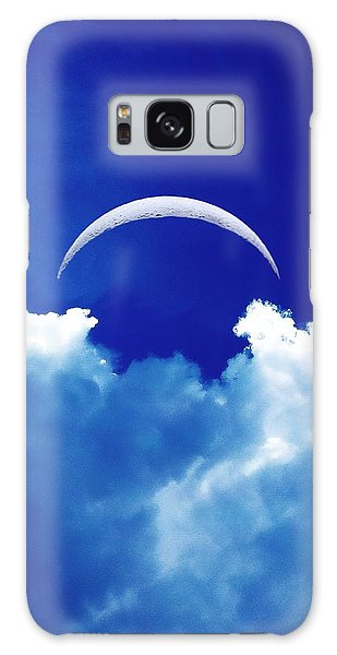Moon Cloud Galaxy Case