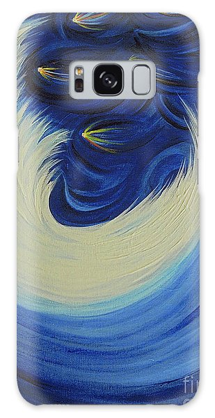 Feather Stars Galaxy Case - Moon Feather By Jrr by First Star Art