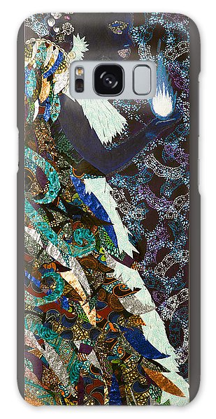 Moon Guardian - The Keeper Of The Universe Galaxy Case by Apanaki Temitayo M