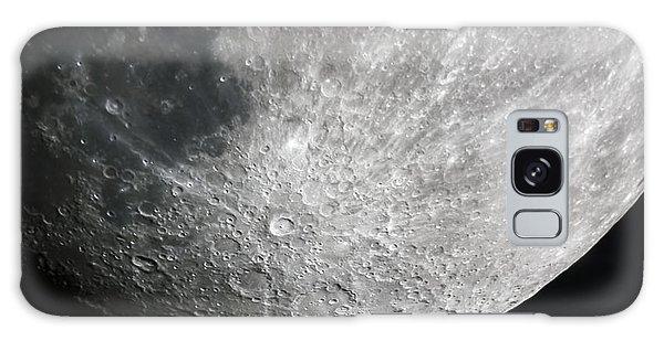 Moon Hi Contrast Galaxy Case