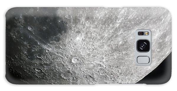 Moon Hi Contrast Galaxy Case