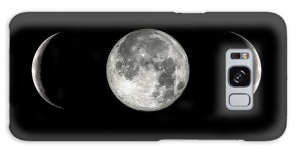 Moon In Parentheses Galaxy Case
