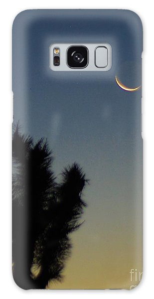 Moon Kissed Galaxy Case by Angela J Wright