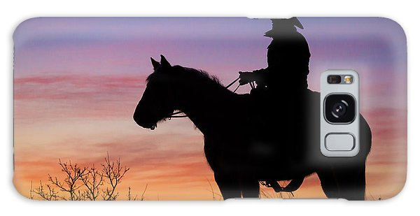 Texas Galaxy Case - Moon On The Range by Inge Johnsson