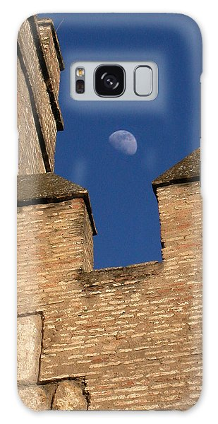 Moon Over Alcazar Galaxy Case