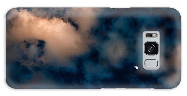 Moon Over Maui   Galaxy Case