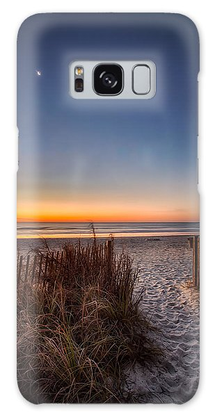 Moon Over Myrtle Beach Galaxy Case