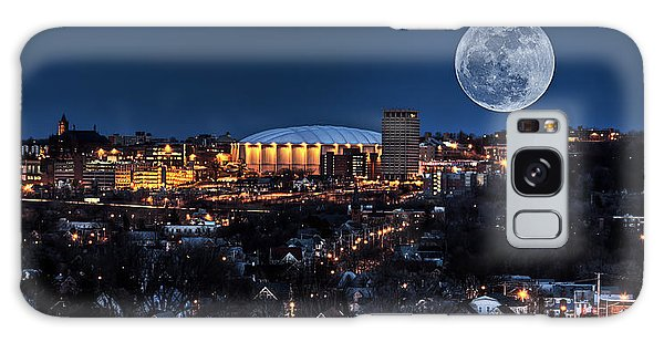 Moon Over The Carrier Dome Galaxy Case