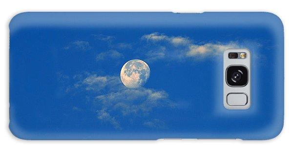 Moon Over Washington Dc Galaxy Case