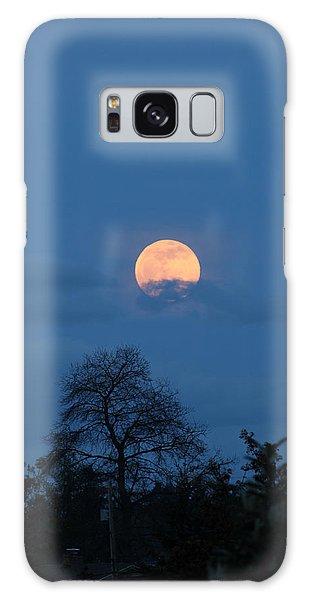 Moon Rising Galaxy Case by E Faithe Lester