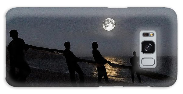Moon Shadows  Galaxy Case