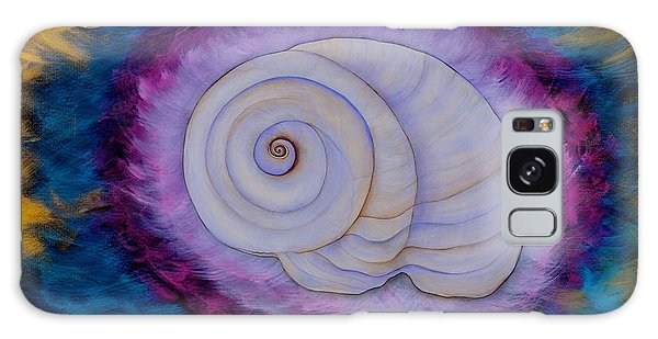 Moon Snail Galaxy Case