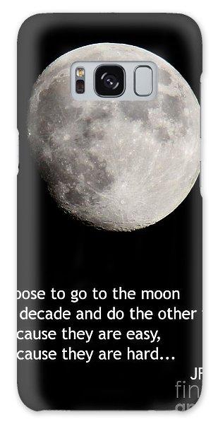 Moon Speech Galaxy Case