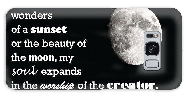 Moon Wonder Galaxy Case