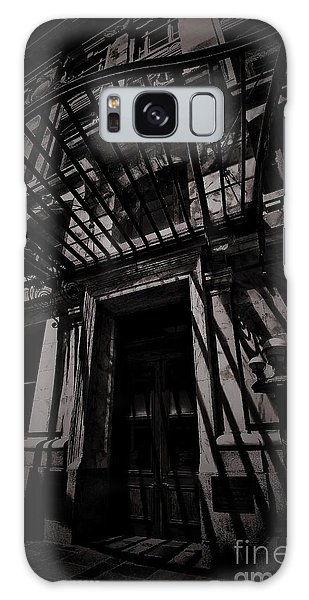 Moonin Munster Manor Galaxy Case by Robert McCubbin