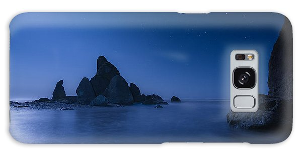 Moonlight Blue Galaxy Case by Gene Garnace