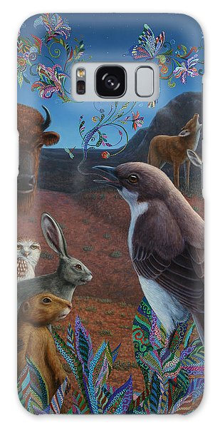 Song Bird Galaxy Case - Moonlight Cantata by James W Johnson