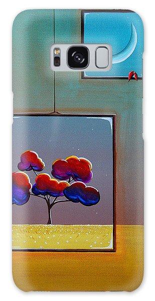 Window Galaxy Case - Moonlight by Cindy Thornton