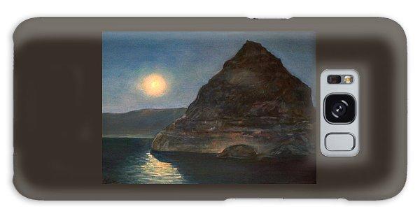Moonlight On Pyramid Lake Galaxy Case