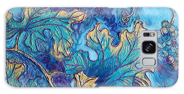Moonlight On The Vine Galaxy Case by Sandi Whetzel