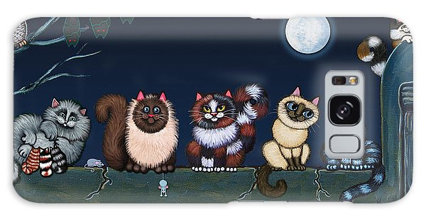 Moonlight On The Wall Galaxy Case