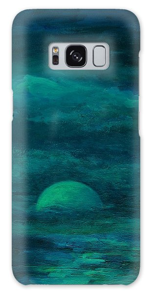Moonlight On The Water Galaxy Case