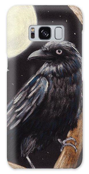 Feather Stars Galaxy Case - Moonlight Raven by Anastasiya Malakhova