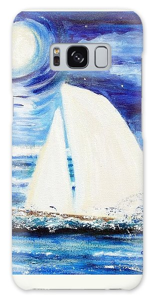 Moonlight Sail Galaxy Case