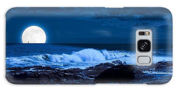 Moonlight Sail Galaxy Case