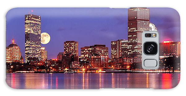 Moonlit Boston On The Charles Galaxy Case