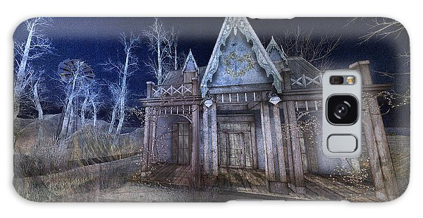 Moonlit Cape Cod Galaxy Case