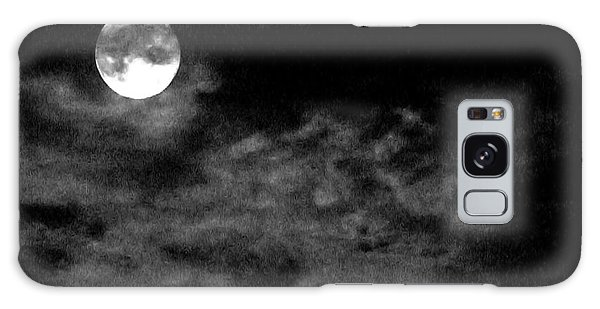 Moonlit Clouds Galaxy Case