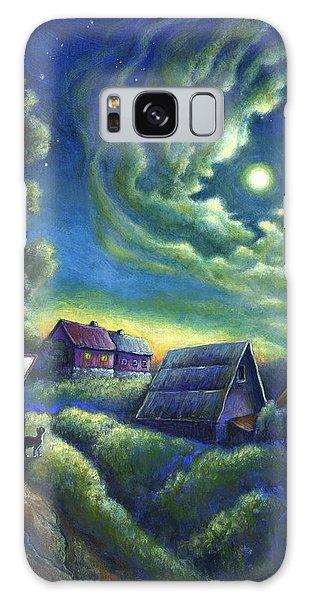 Moonlit Dreams Come True Galaxy Case